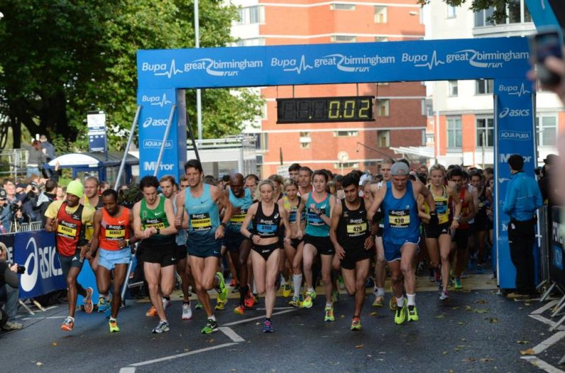 Dzisiaj Great Birmingham Run 2016