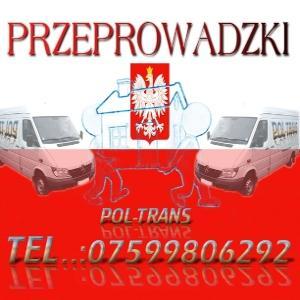 POLTRANS- PRZEPROWADZKI TRANSPORT CENY OD 20f