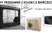 Nowe wzory polskich szaf przesuwnych!