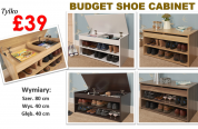 Promocja na garderoby i szafki na buty!