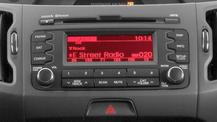 Kia Sportage CD audio