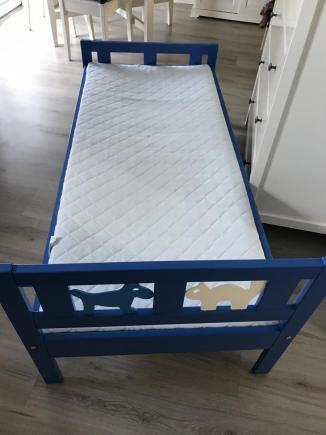 Dziecięce łożko Kritter - Ikea 70x160