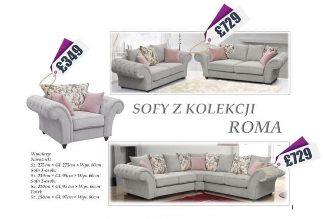 Eleganckie, tanie narożniki i zestawy sof!