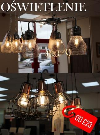 OŚWIETLENIE, LAMPY NOWOŚĆ!