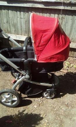 Wozek mothercare 3in1 bez fotelika