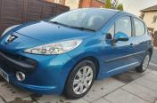 Car peugeot 207 blue/1.4/5dr/2007/49k/mot
