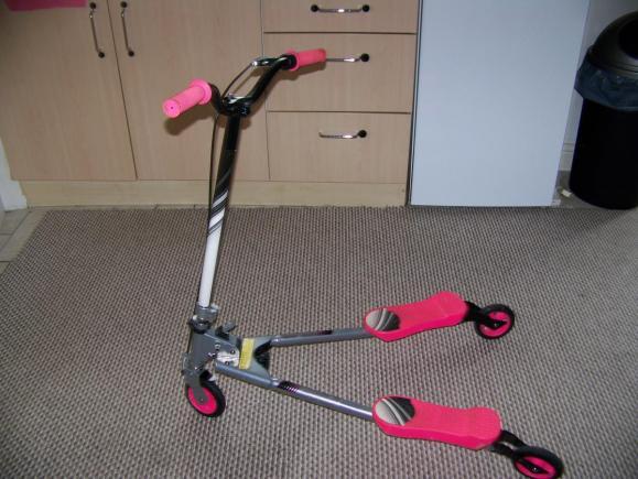 Scooter Fliker rozowy