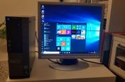 Dell win10 8gb ram + monitor