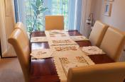ST�� PLUS 6 KRZESE� DINING TABLE 6 CHAIRS