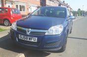 Vauxhall astra h 2008