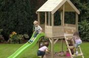 Domek dla dzieci z zjeŻdŻalnia