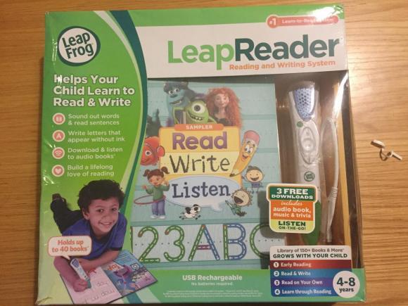 Leap Reader do nauki języka angielskiego