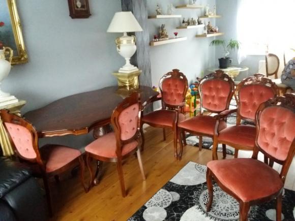 Stol plus 6 krzesel