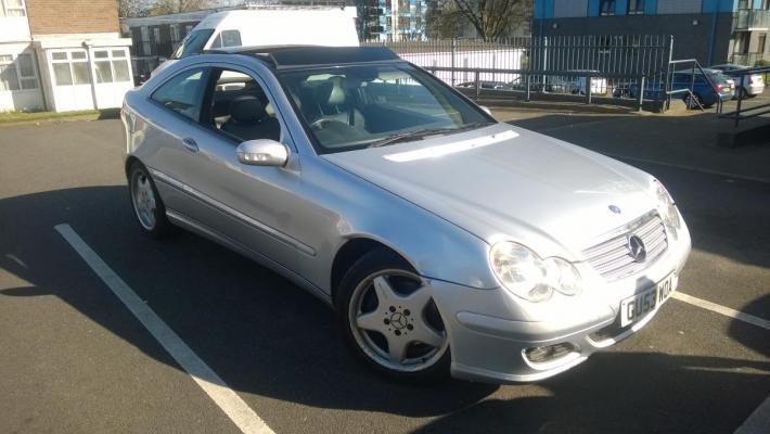 Mercedes c320 2003r