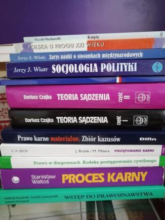 Książki do prawa EWSPA