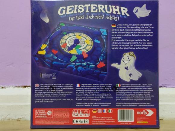 GEISTERUHR- Gra Planszowa