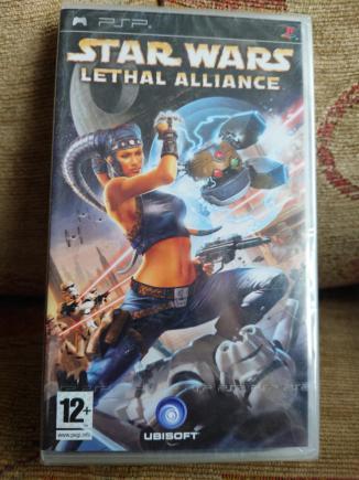 PSP STAR WARS - Lethal Alliance