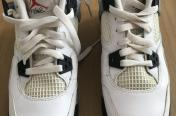 Air jordan 4 white cement 4.5uk