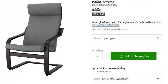 Ikea fotele